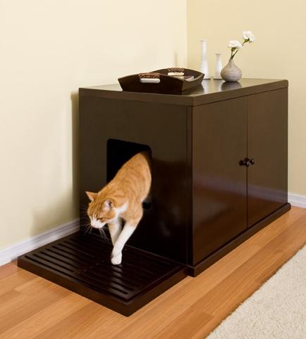 Cat toilet furniture