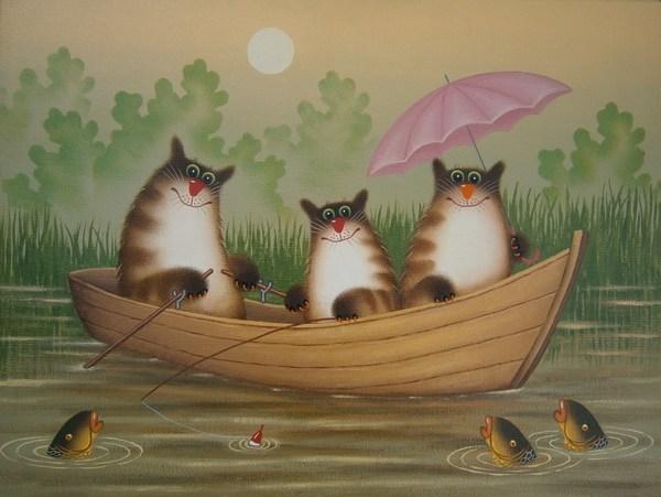 открытки с котами от александра ульяновске области всех
