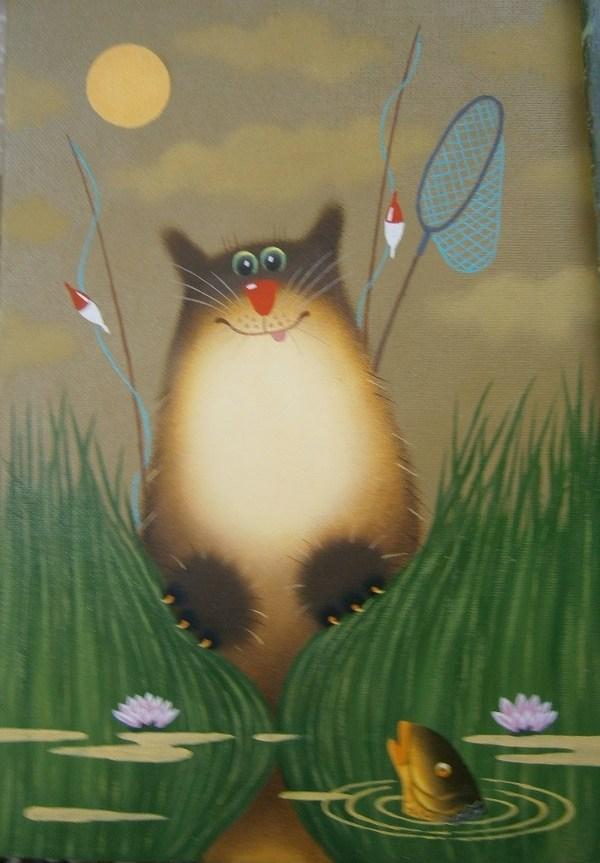 этот открытки с котами от александра самым важным для